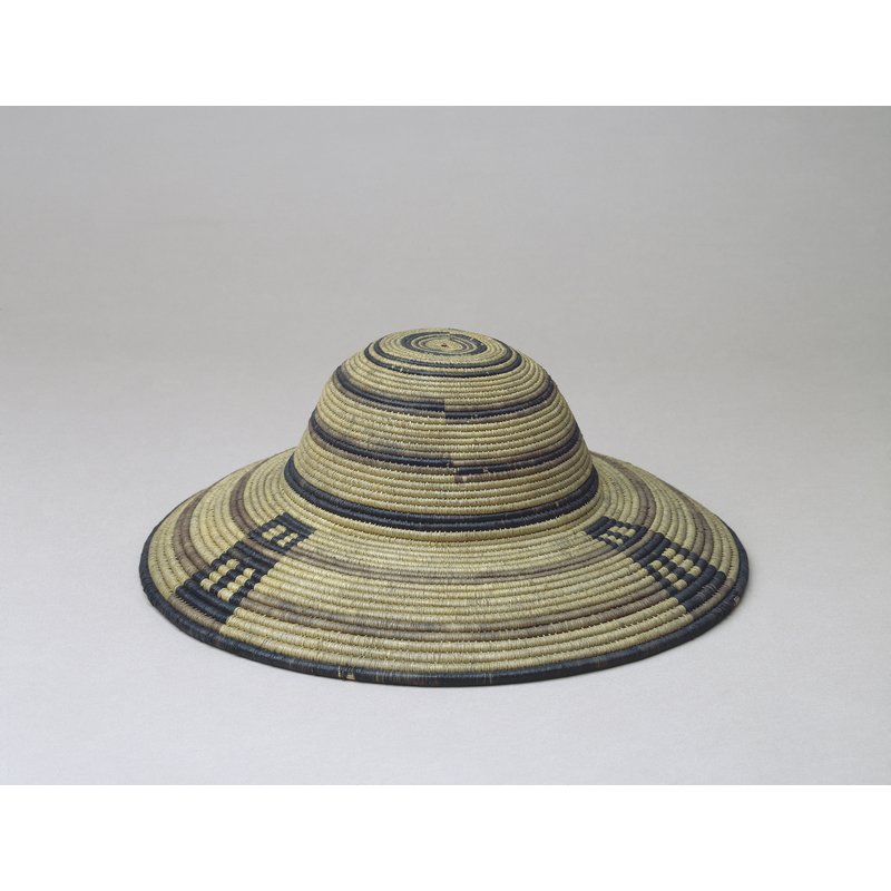 Coiled Basketry Hat
