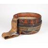 Nigerian Leather Basket