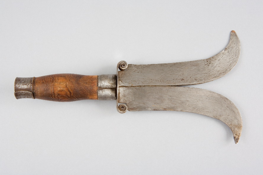 Double Bladed Knife.