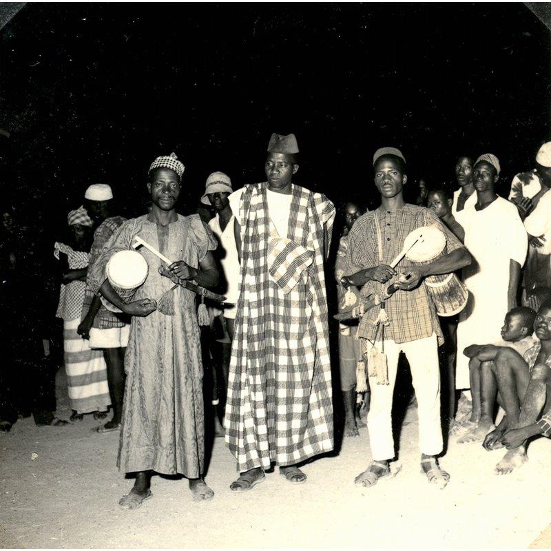Yalunka drumming by two tamban
