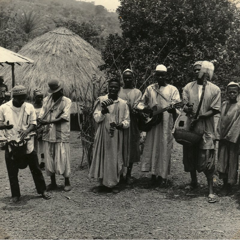Fula song, followed by tuning of bolon bata