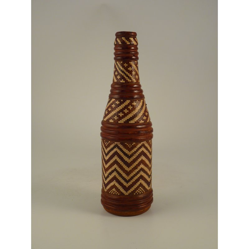 Leather Covered Bottle