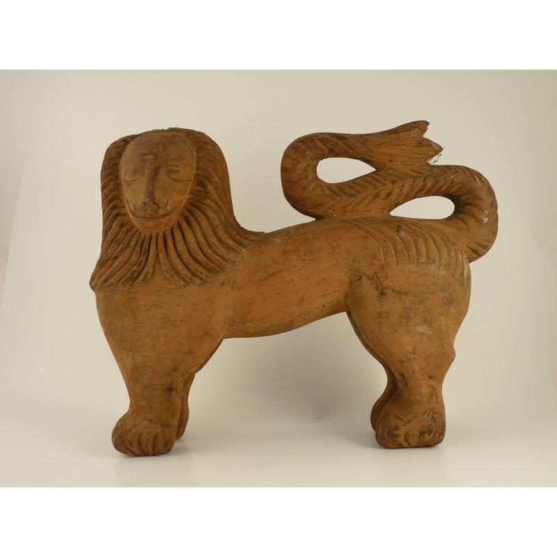 Wooden Lion