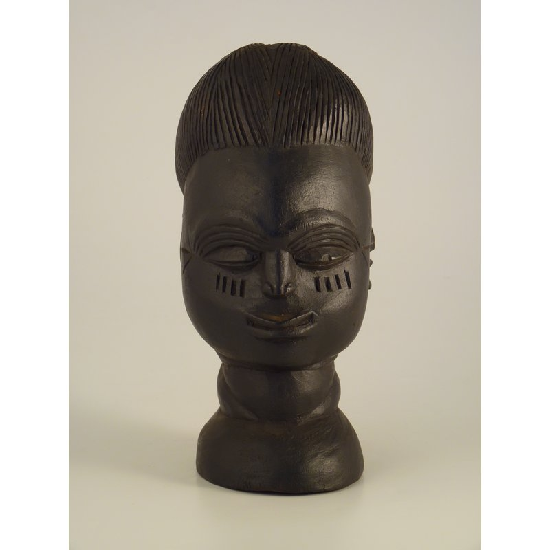 Carved Female Head