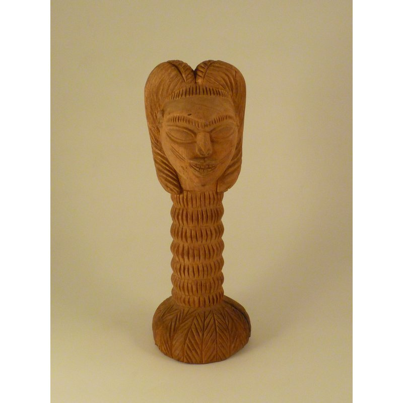 Carved Female Head