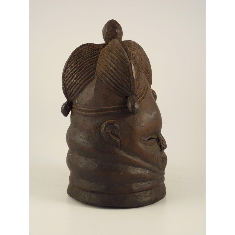 Miniature Sowei Mask