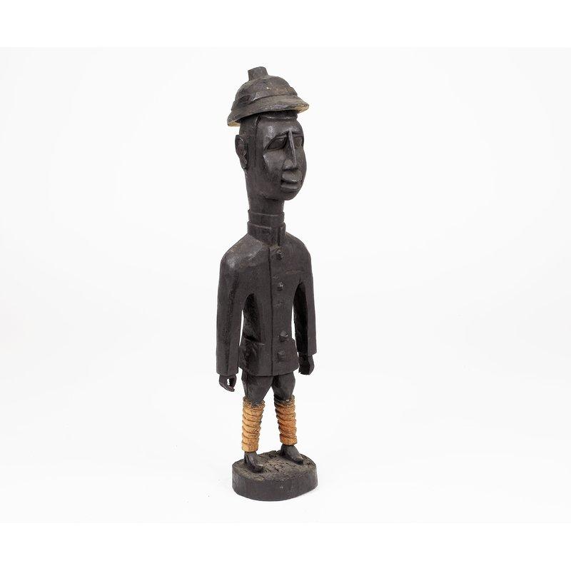 Carved European Figure
