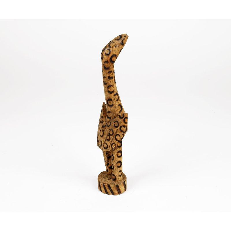Carved Wooden Bird